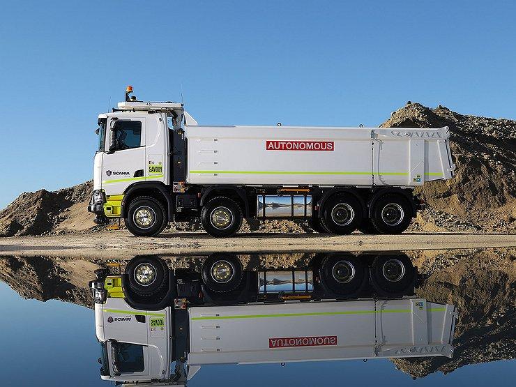 Scania выкатила на тесты беспилотные грузовики 1