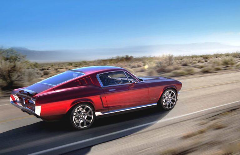 Старый Mustang превратили в элитный электрокар 1