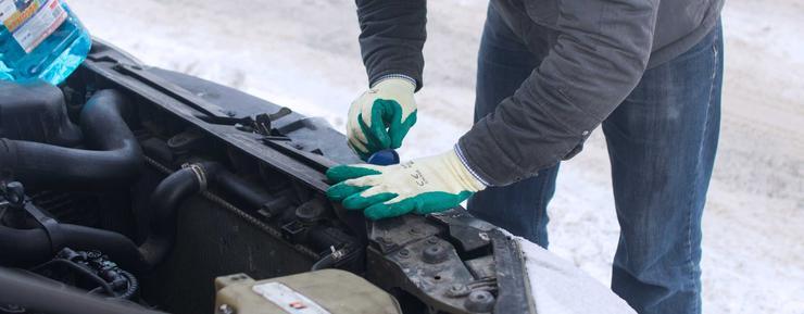 Как правильно мыть автомобиль зимой 2