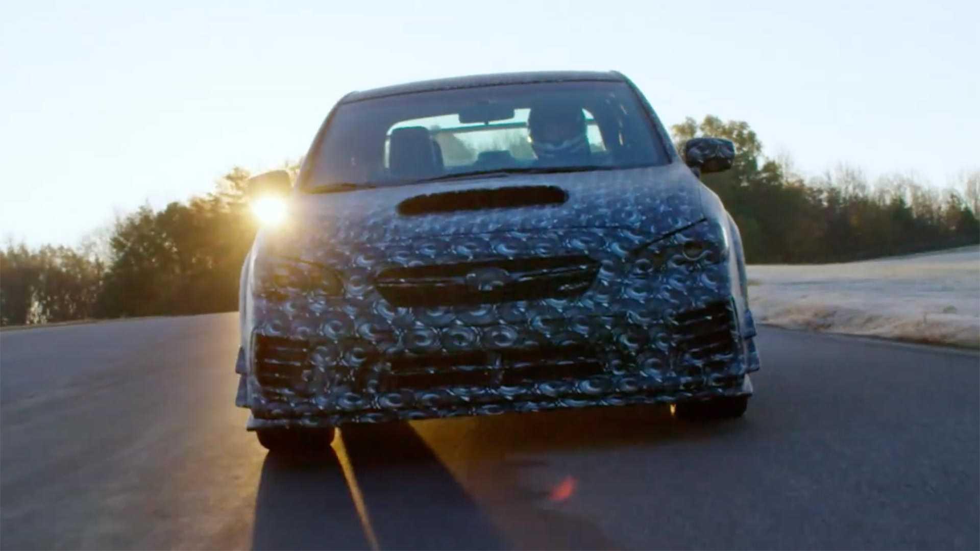 Subaru представила очередной тизер WRX STI S209 2