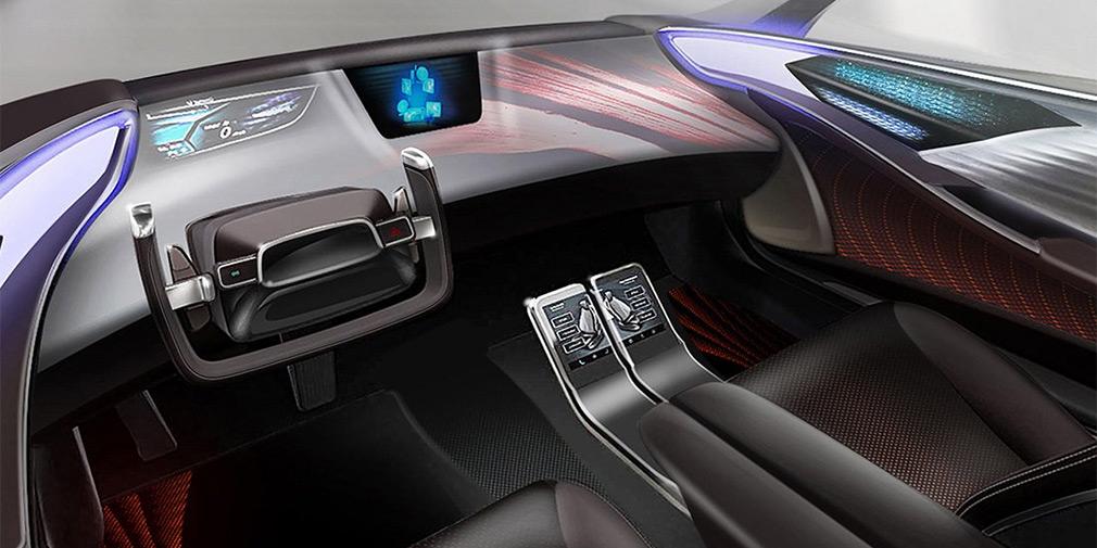 Toyota показала интерьер будущих беспилотников 1