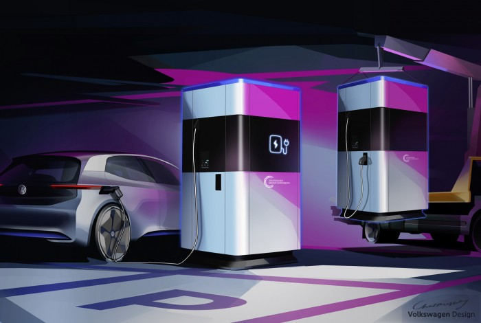 Volkswagen придумал «powerbank» для автомобилей 1