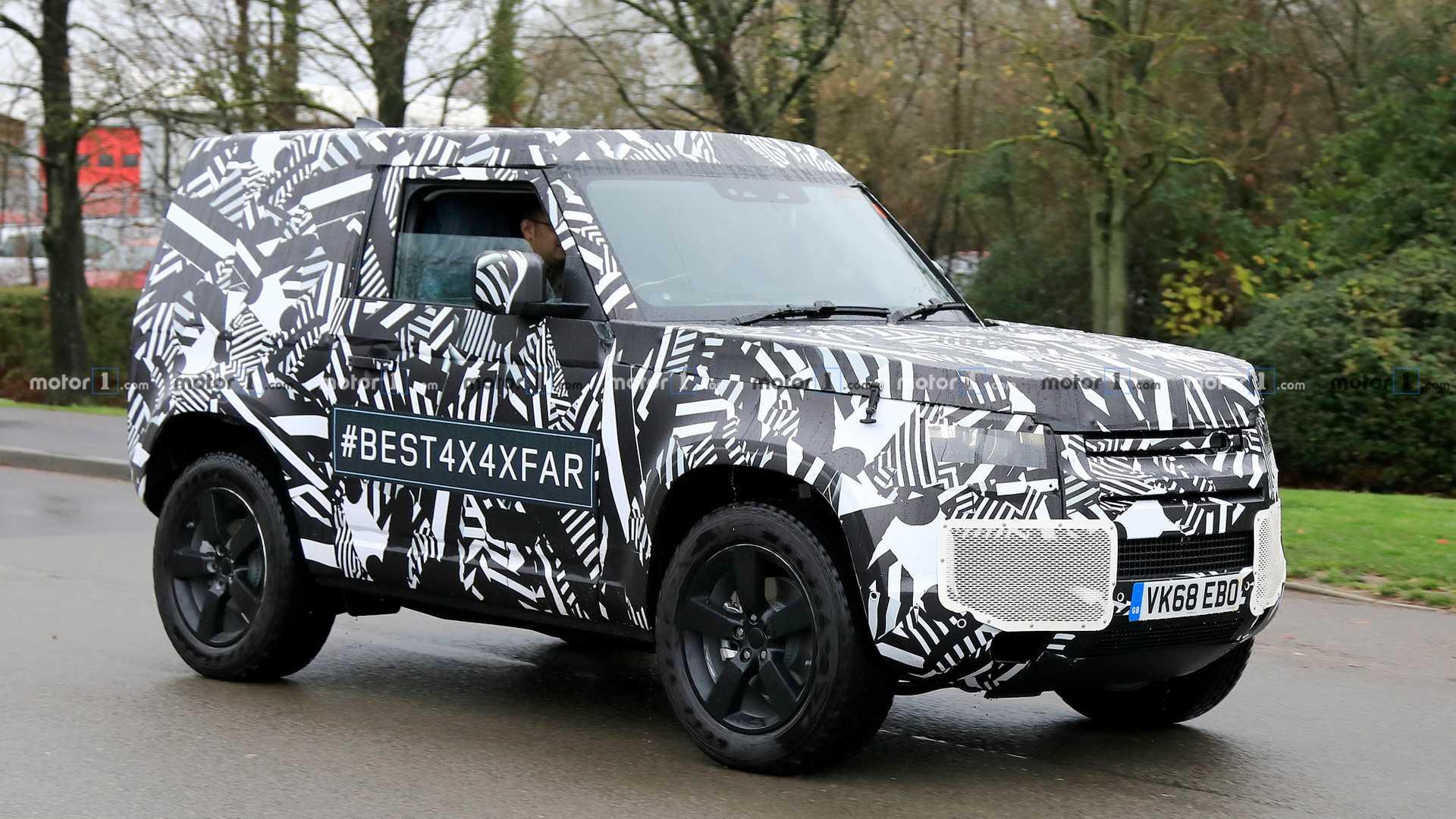 Новый Land Rover Defender появится в США 1