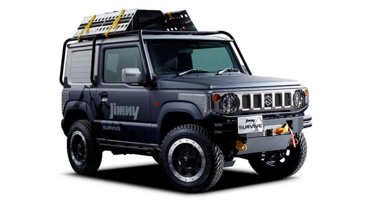 Suzuki Jimny нового поколения: пикап и версия для выживания 1