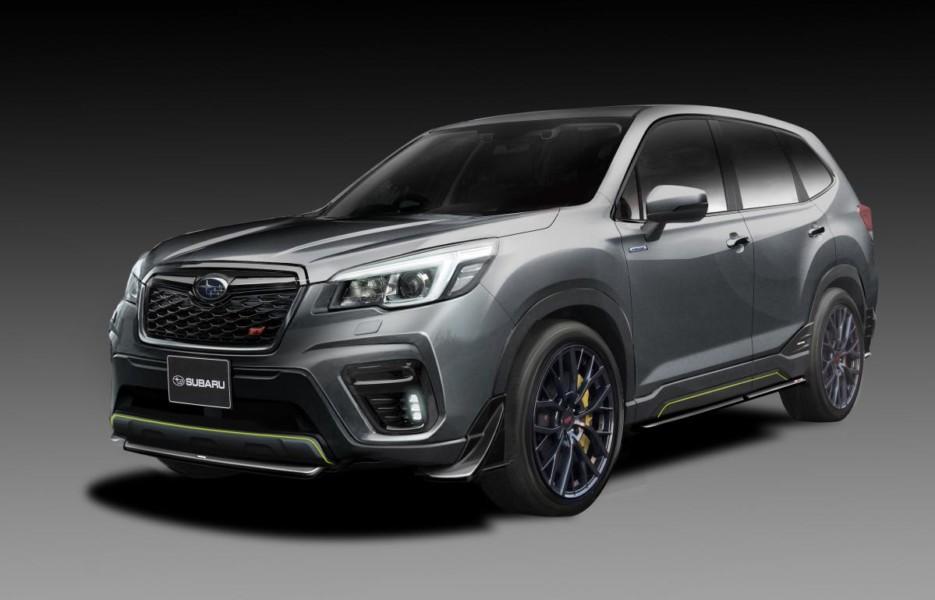 Subaru анонсировала новые Forester STI и Impreza STI 1