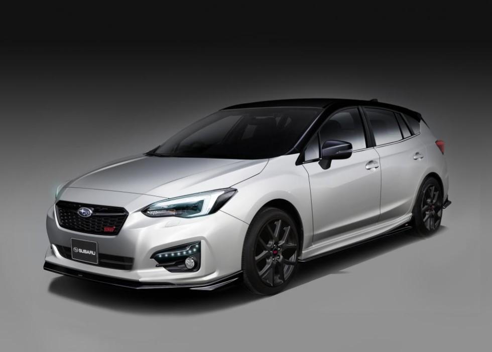 Subaru анонсировала новые Forester STI и Impreza STI 2