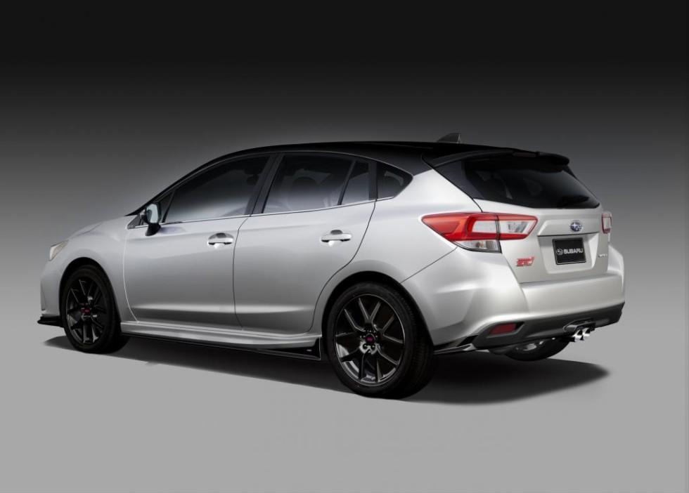Subaru анонсировала новые Forester STI и Impreza STI 3