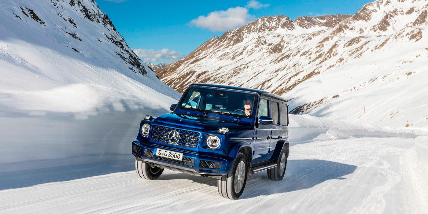 Новый Mercedes-Benz G-Class получил дизельный мотор 1