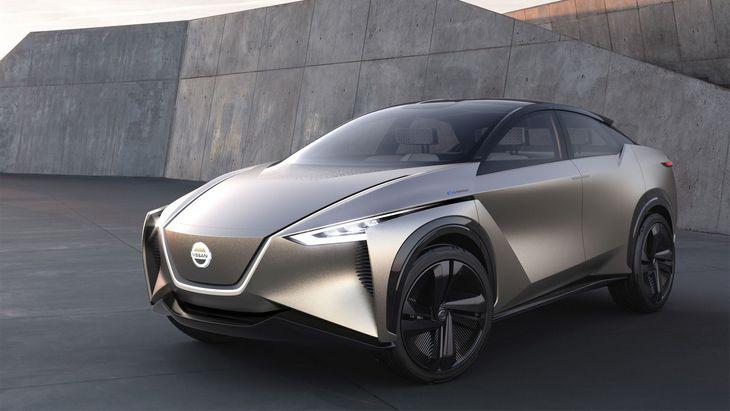 Nissan зарегистрировал торговые знаки для новых электрических кроссоверов 1