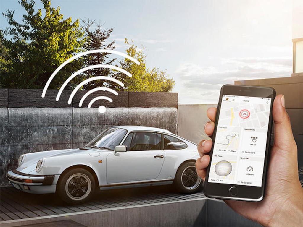 Porsche придумала систему слежения за классическими автомобилями 1
