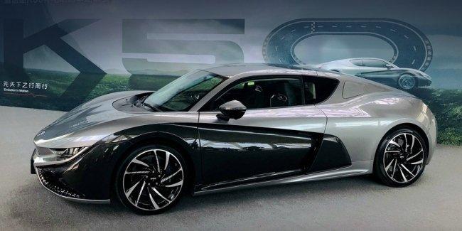 Китайский спорткар Qiantu K50 будет выпускаться в Америке 1