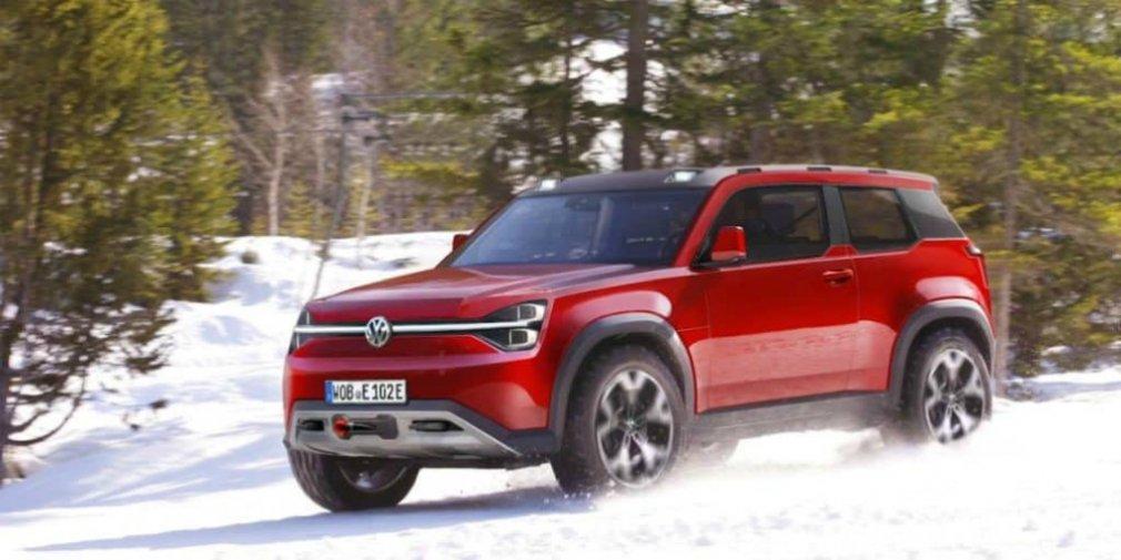 Volkswagen выпустит электрического конкурента Land Rover Defender 1