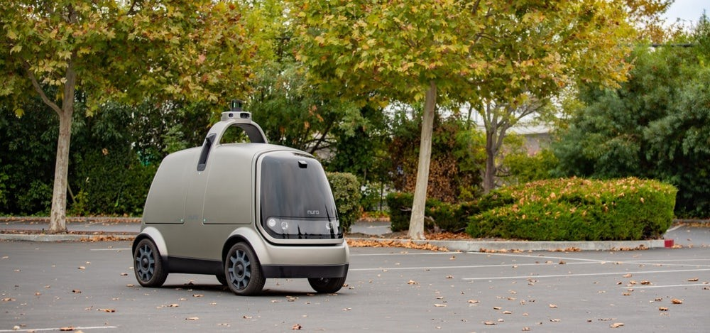 Nuro R1 осуществил первую автономную доставку продуктов 1
