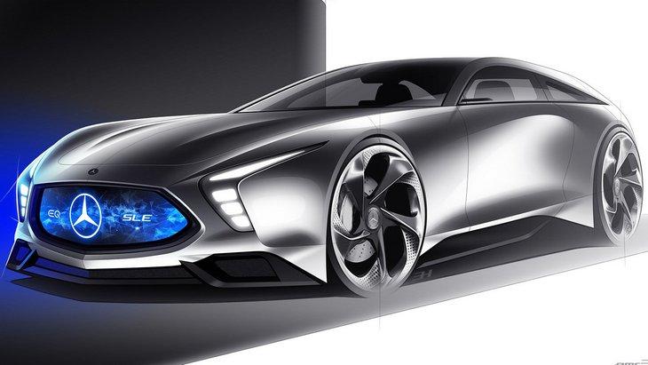 Альтернативный взгляд на будущее Mercedes-Benz SL 1