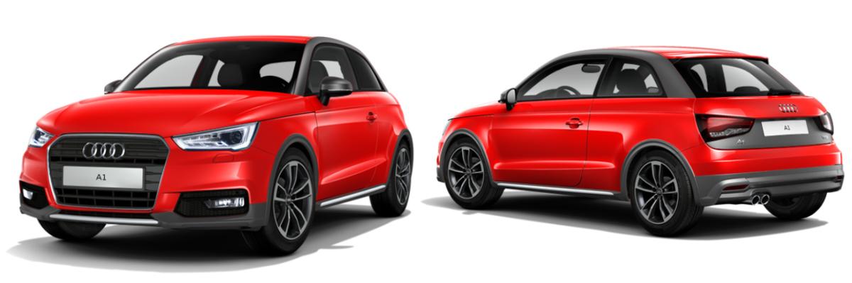 У хэтчбека Audi A1 появится кросс-версия