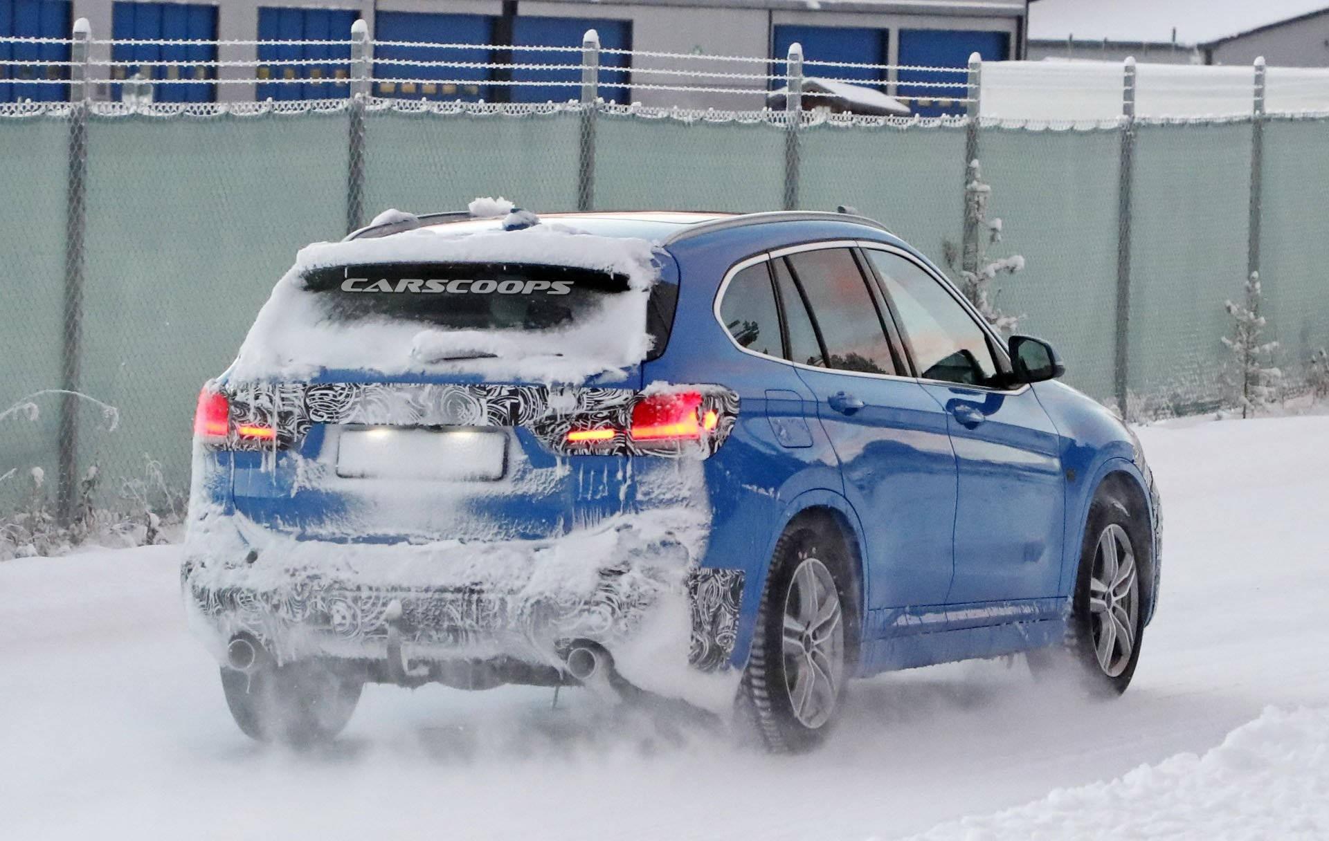 Обновленный BMW X1 2019 года предложит больше технологий 3