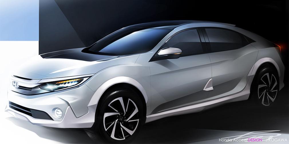 Honda анонсировала премьеру вседорожного Civic 1