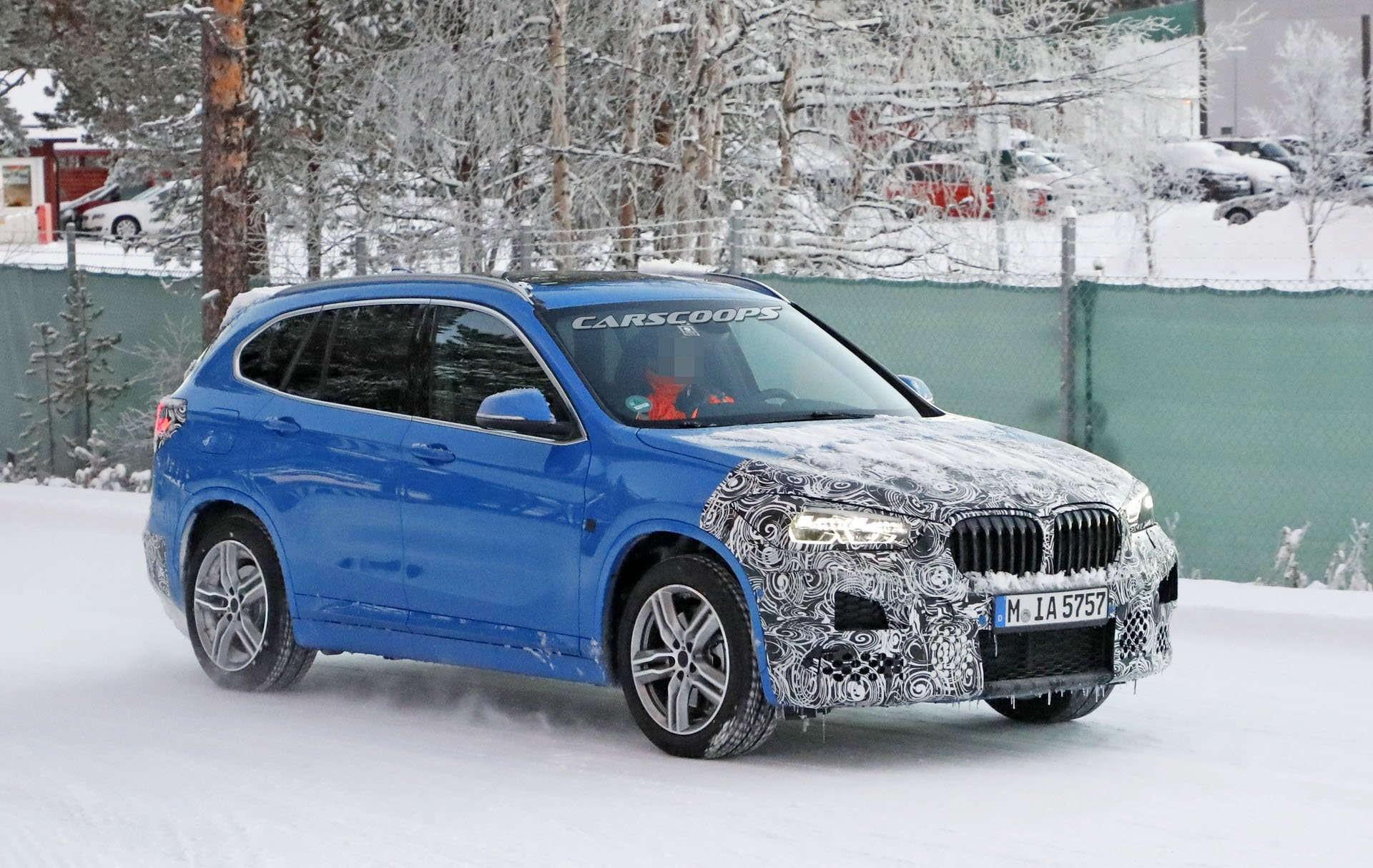 Обновленный BMW X1 2019 года предложит больше технологий 2