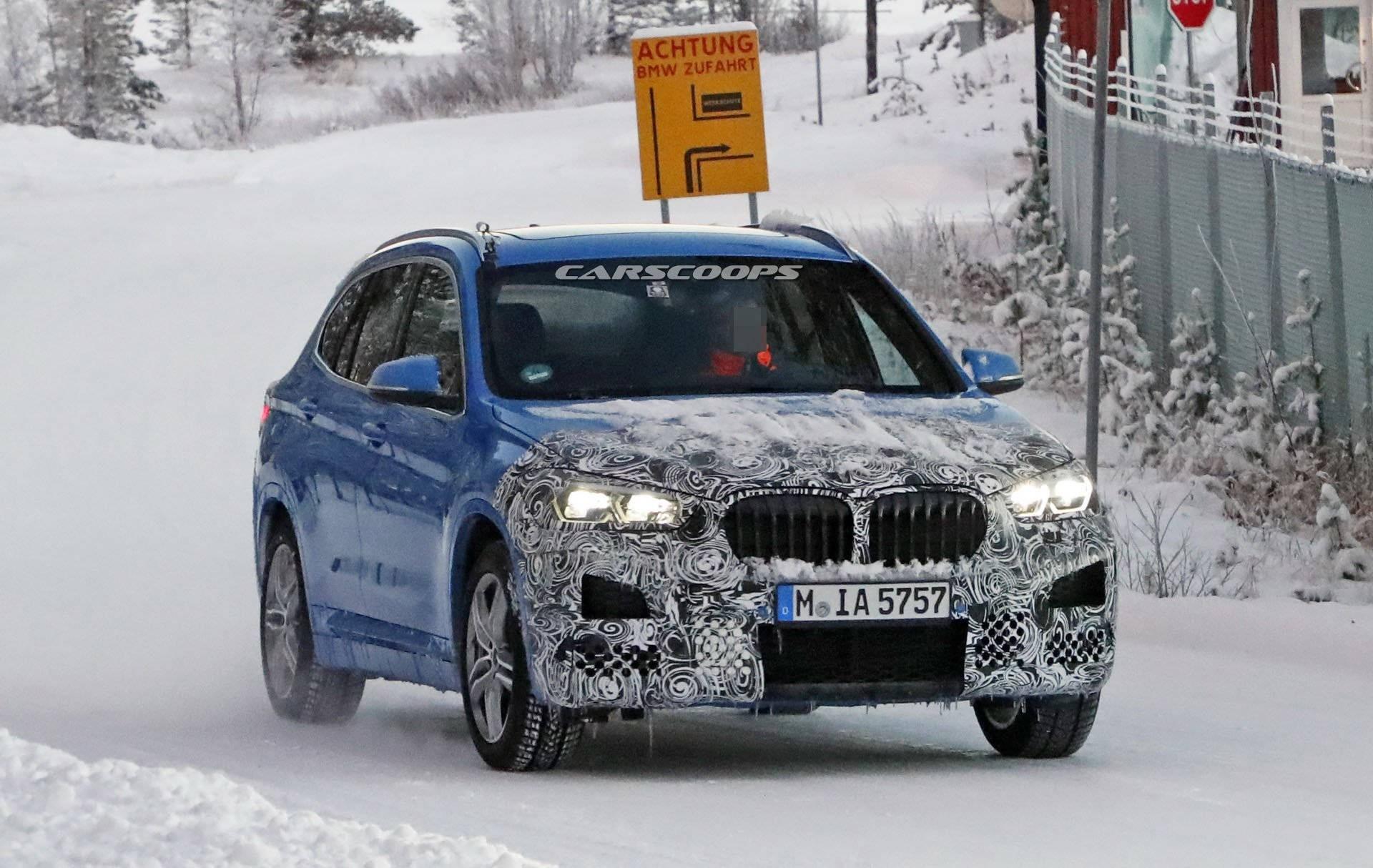 Обновленный BMW X1 2019 года предложит больше технологий 1