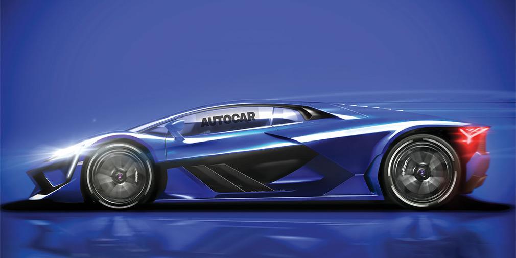 Lamborghini выпустит гибридный спорткар 1
