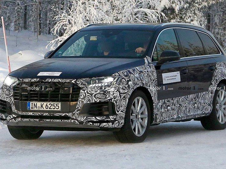 Обновленный Audi Q7 вновь замечен на тестах 1