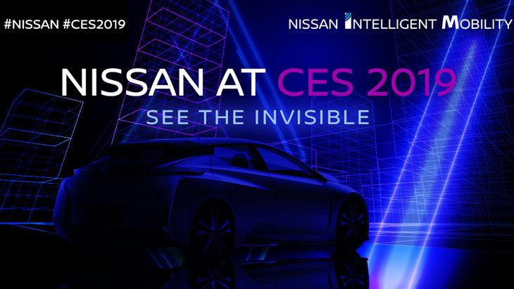 Nissan анонсировал новую модель для автошоу CES 1
