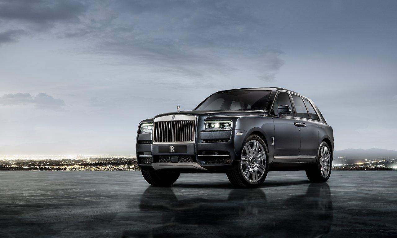 Rolls-Royce приступил к серийному производству кроссовера Cullinan 1