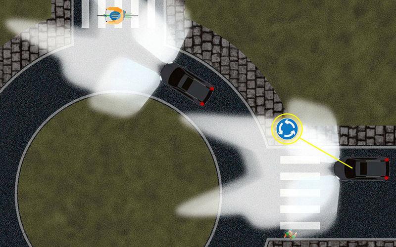 Ford научил фары светить по дорожной разметке 1
