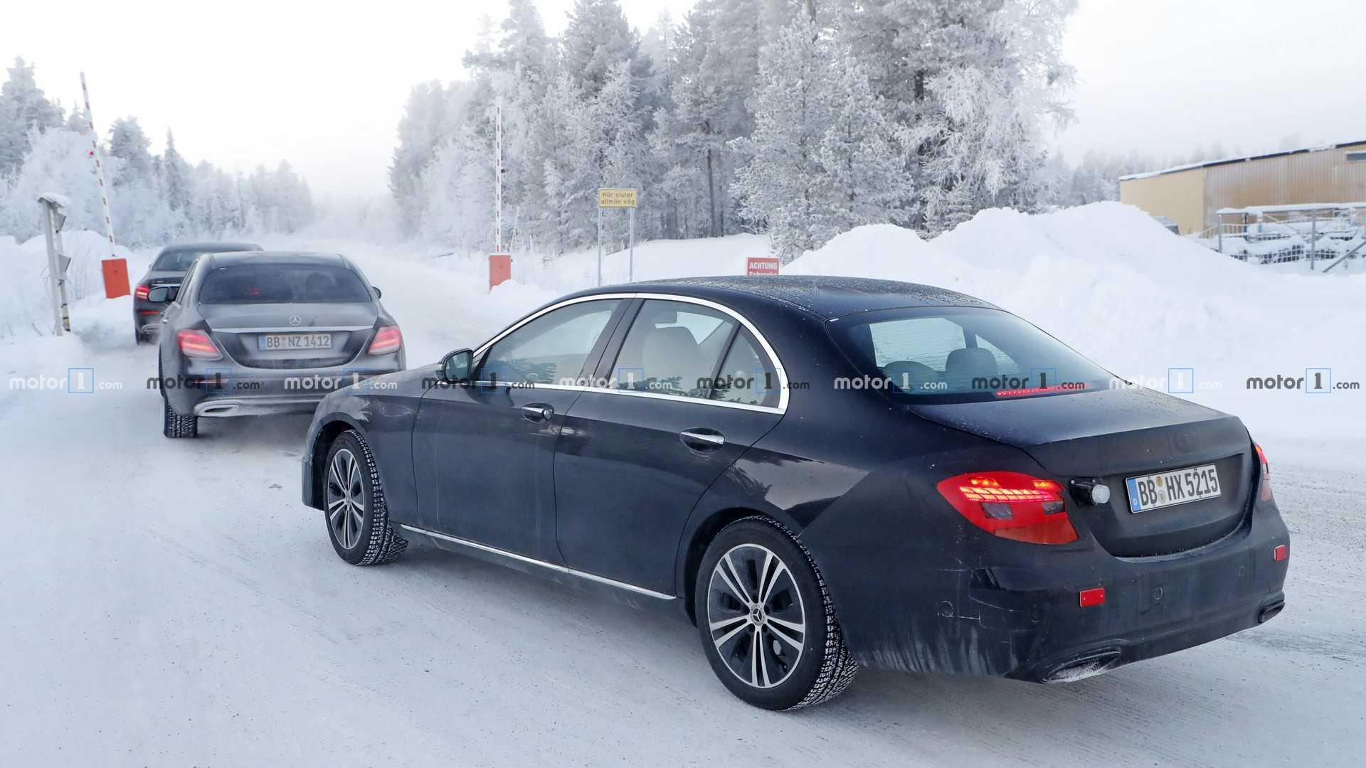Mercedes-Benz приступил к тестам нового E-Class 2