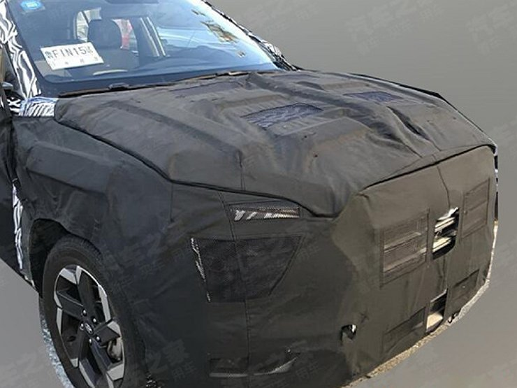 Опубликованы первые шпионские фото нового Hyundai Creta 1