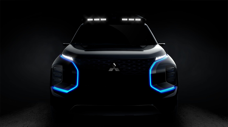 Mitsubishi показала тизер новой модели 1