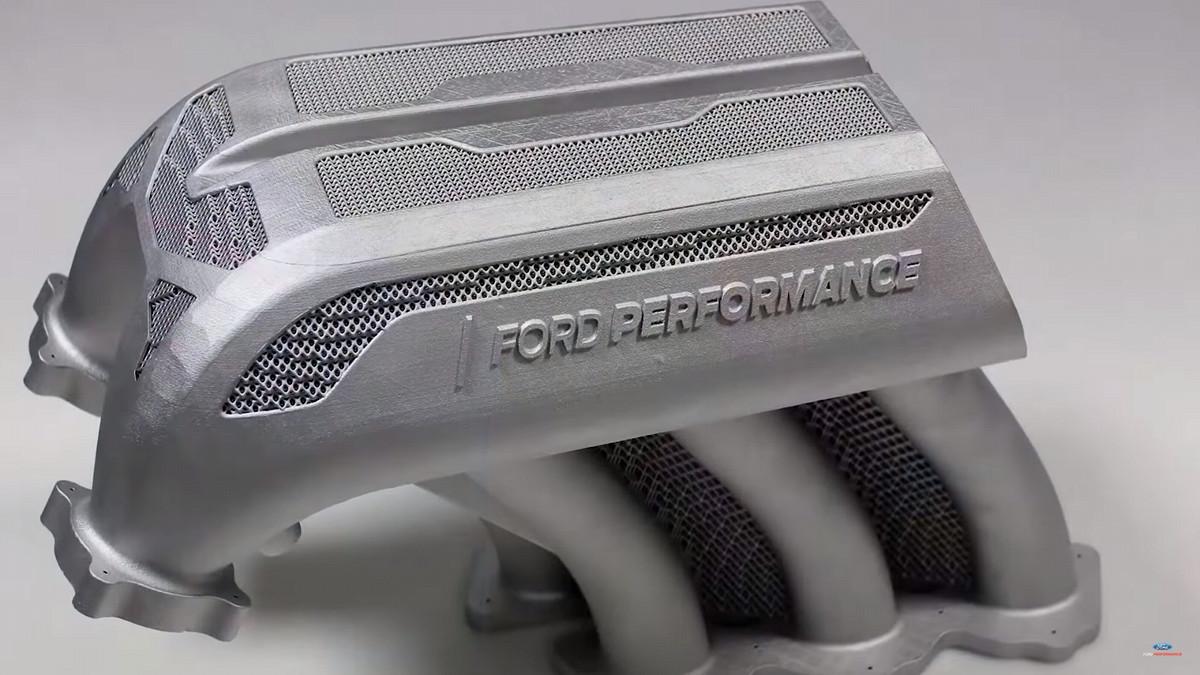 Ford «напечатал» рекордную деталь для гоночного пикапа 1