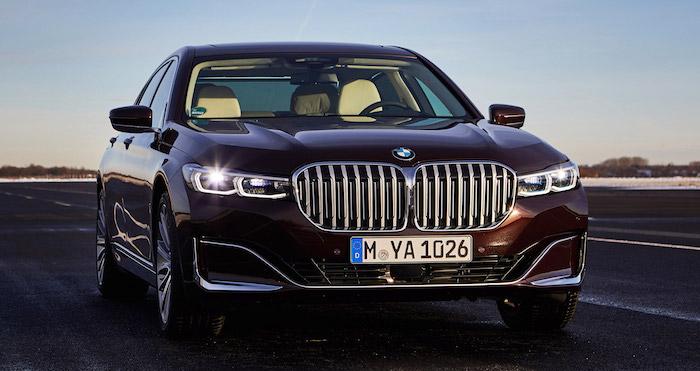 BMW показала самую экономичную версию гибрида 7-Series 1