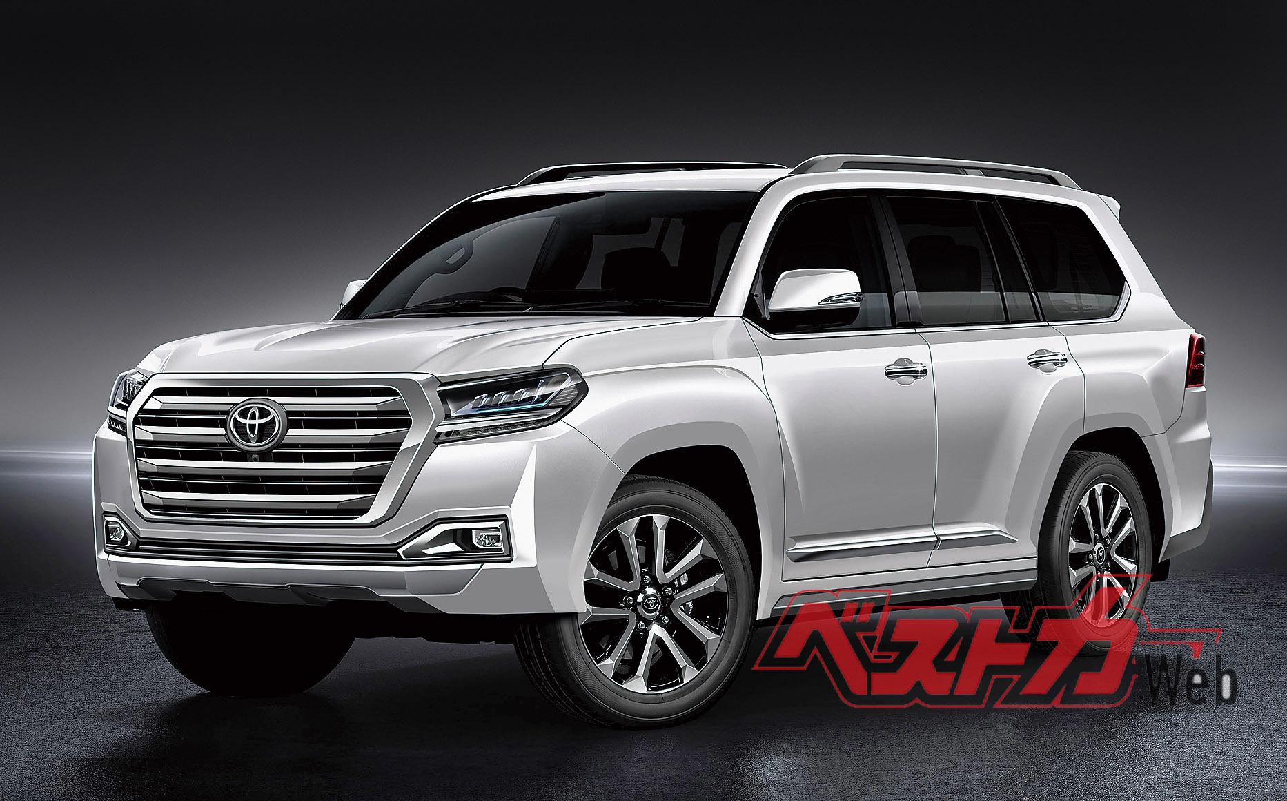 Toyota скоро выпустит Land Cruiser 300 1