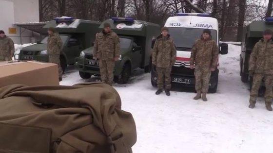Партия санитарных автомобилей «Богдан» начала миссию на Востоке 2