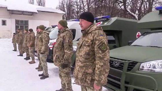Партия санитарных автомобилей «Богдан» начала миссию на Востоке 1