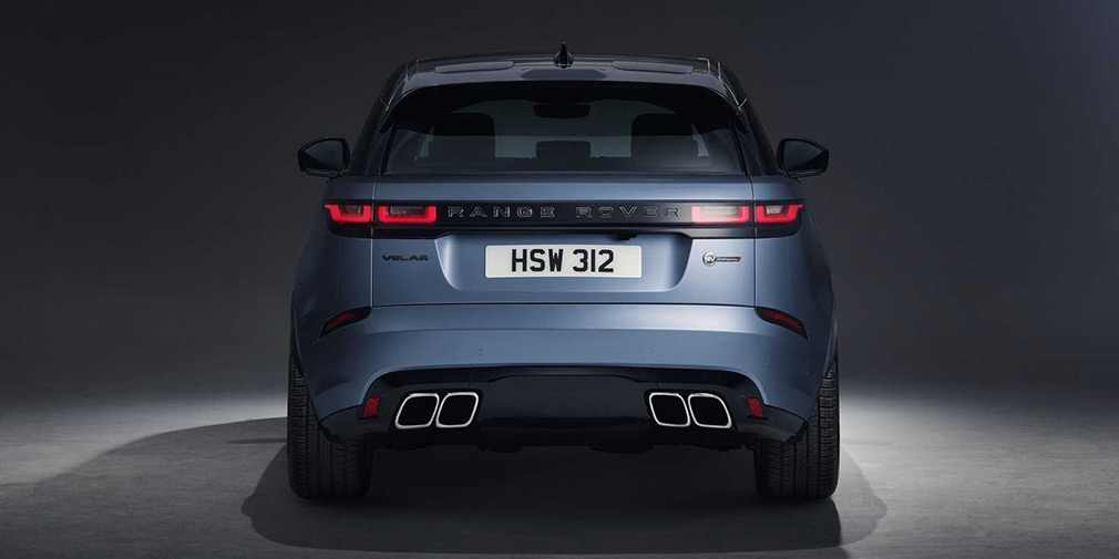 Range Rover представил самый мощный и быстрый Velar 1