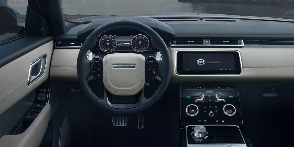 Range Rover представил самый мощный и быстрый Velar 3