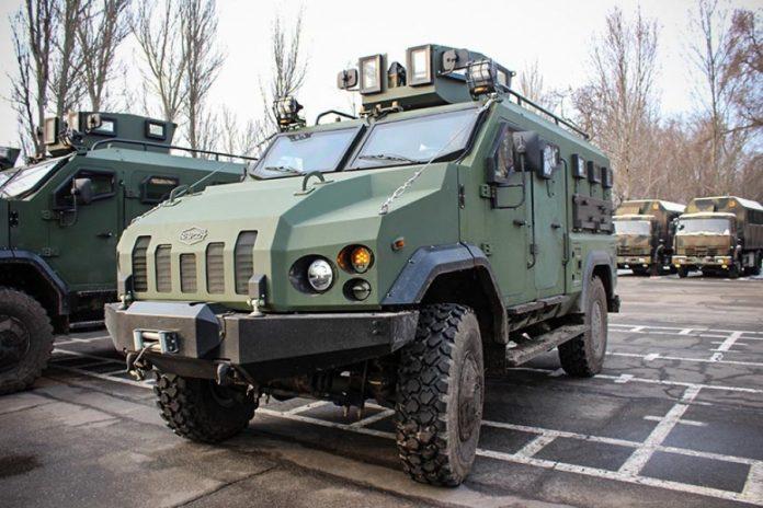 Украинские бронемашины «Варта» отправили на экспорт 1
