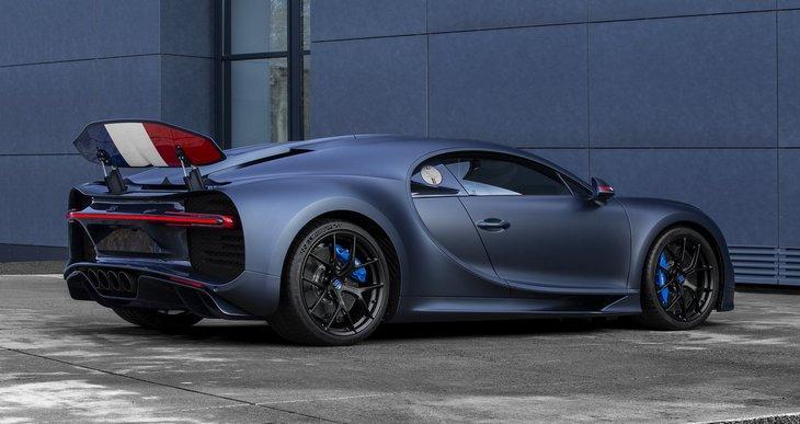 Bugatti выпустил специальный Chiron к юбилею компании 1