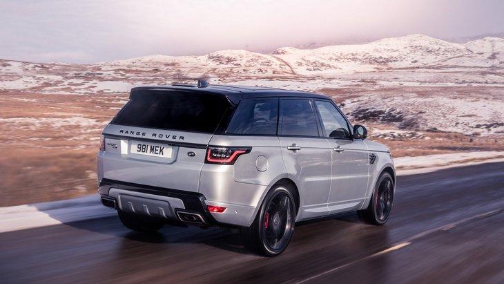 Land Rover выпустил гибридную версию внедорожника Range Rover Sport 2