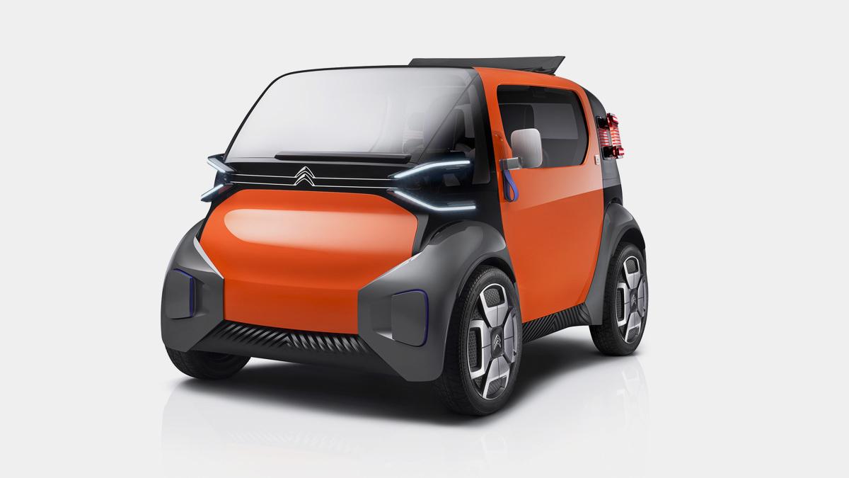 Citroen придумал автомобиль, для которого не нужны права 1