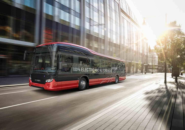 На шведские дороги выйдут автобусы без водителей 1