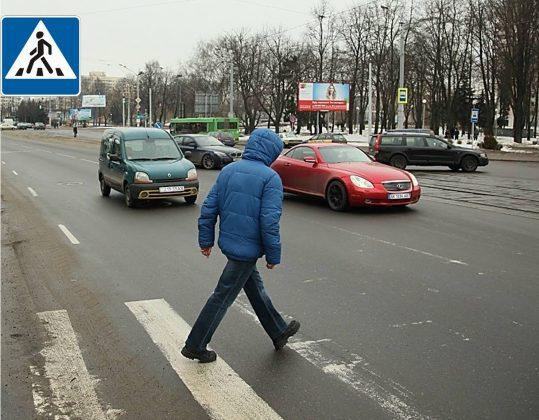 Юристы рассказали, как пешеходы могут лишить водителя «прав» 1