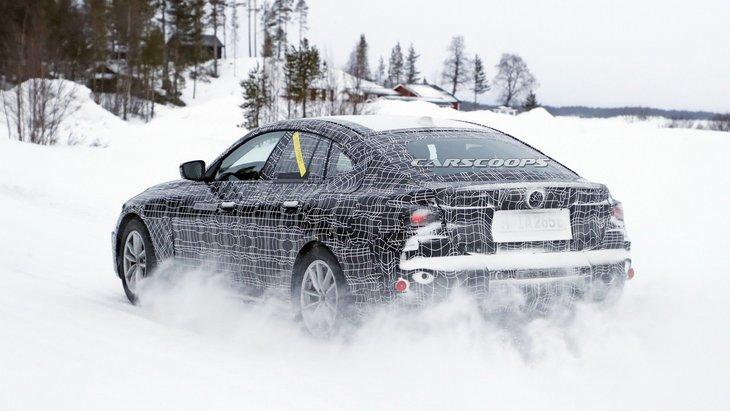 Электрический BMW i4 готов к битве с Tesla и Polestar 1