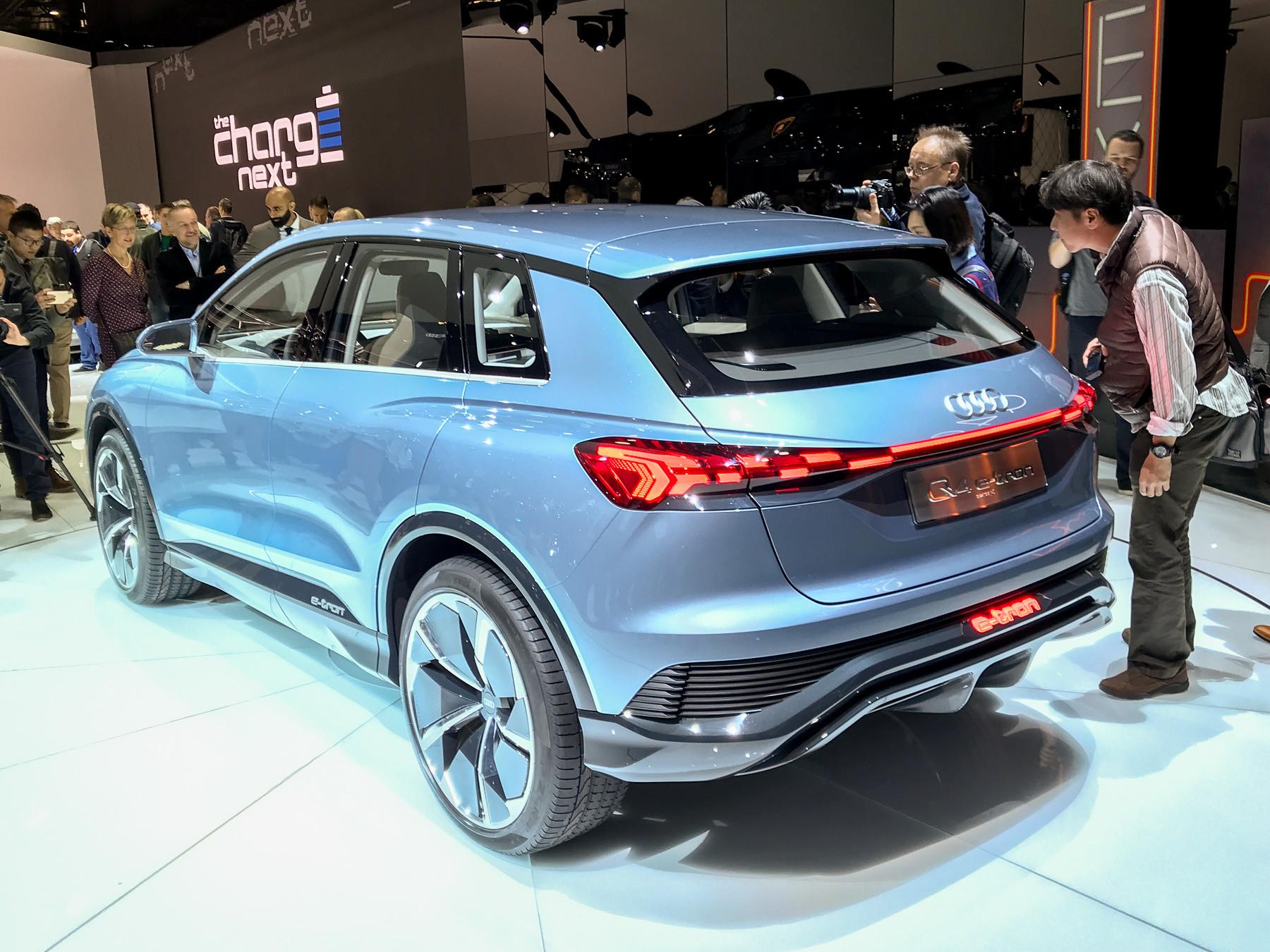 Audi показала новый красивый кроссовер 2