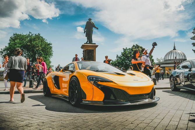 В Украине пройдет масштабный пробег суперкаров 1