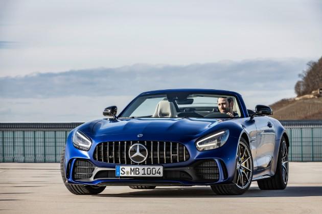 Mercedes-AMG представил самый «злой» родстер 1