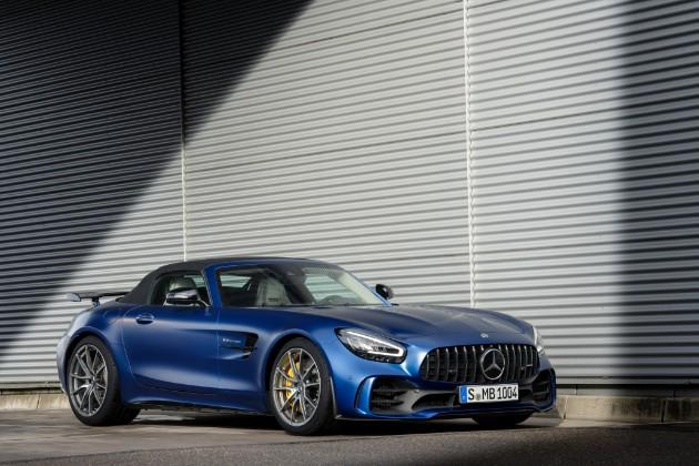 Mercedes-AMG представил самый «злой» родстер 2