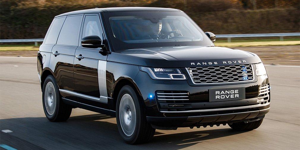 Пуленепробиваемый внедорожник Range Rover сделали мощнее 1